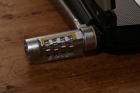 Kensington ComboSaver Combination Notebook Lock Ultra review - photo 2