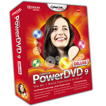 CyberLink PowerDVD 9 Deluxe - PC