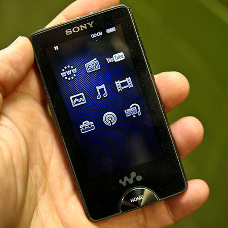 Sony X-Series Walkman MP3 player - First Look review