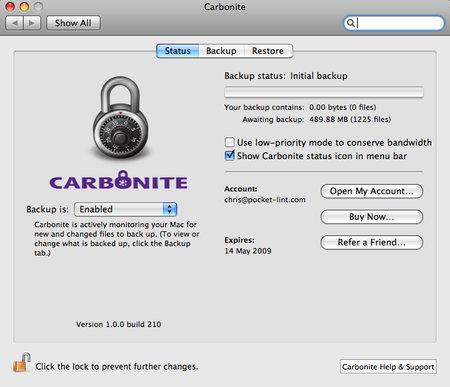 Carbonite - Mac - photo 3