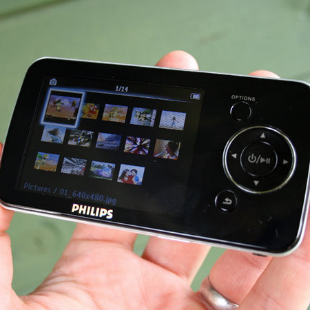 Philips GoGear Opus MP3 player
