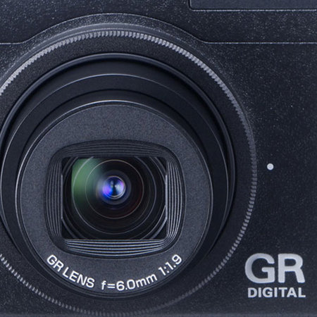 Ricoh GR Digital Mk III digital camera