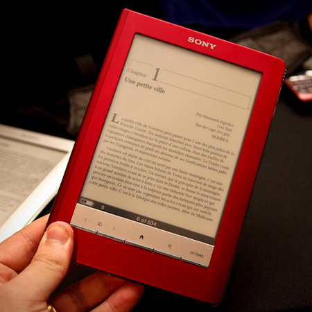Sony PRS-600 Reader Touch Edition ebook - First Look