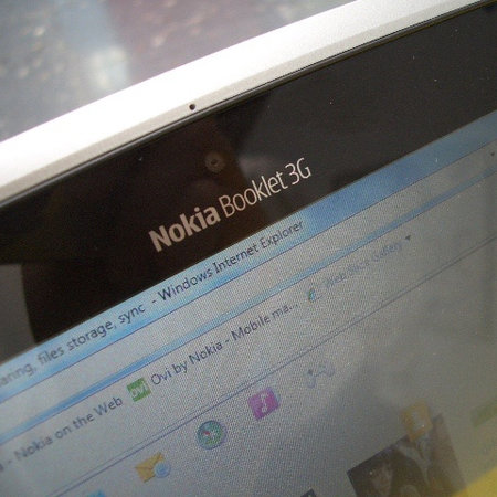 Nokia Booklet 3G - First Look