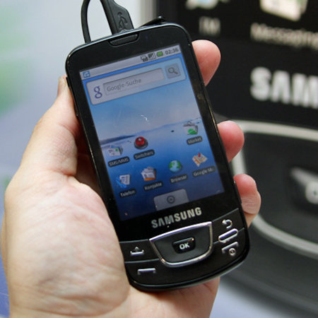 Samsung Galaxy i7500  review
