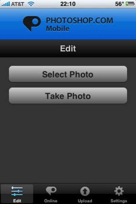 Adobe Photoshop.com Mobile for iPhone review