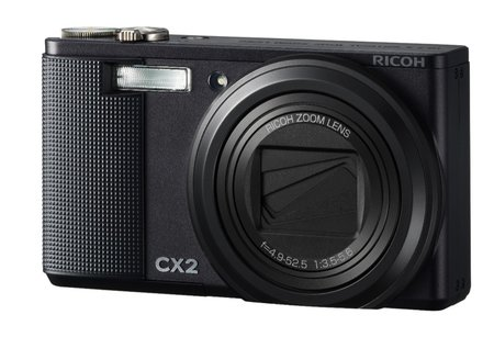Ricoh CX2 digital camera   review
