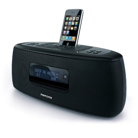 Memorex Sound System iPod dock   review