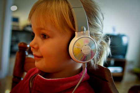 Griffin MyPhones headphones for children