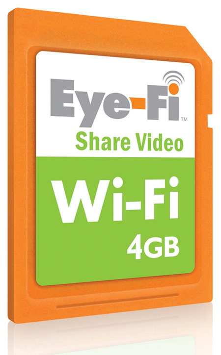 Eye-Fi Share Video wireless SD card
