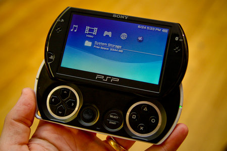 Sony PSP Go console   review