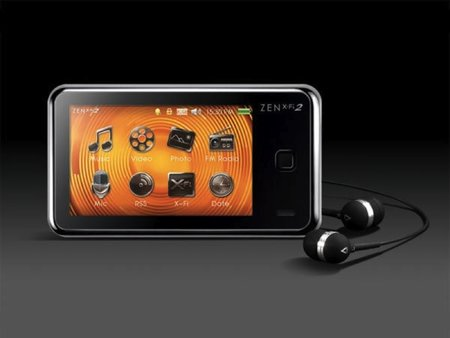 Creative Zen X-Fi 2 MP3 player   review