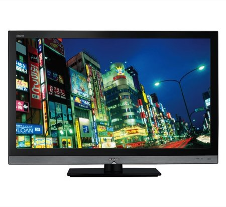 Sharp Aquos LC32LE600E television   review