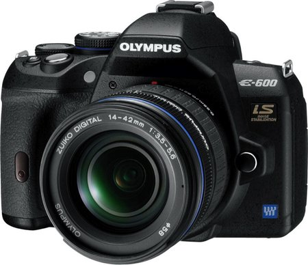 Olympus E-600 DSLR camera   review
