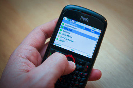 INQ Chat 3G review - photo 5