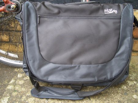 Exspect MiBag customisable laptop bag review