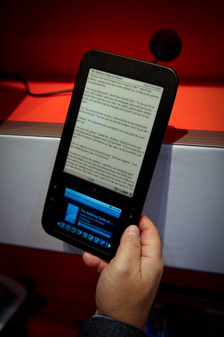 First Look: Spring Design Alex ebook reader