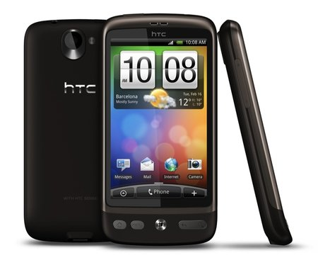 First Look: HTC Desire