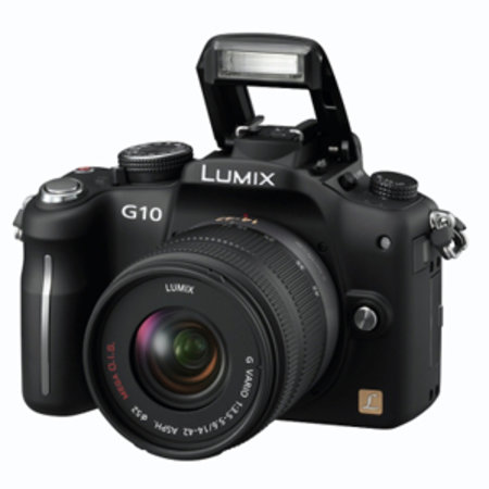 Panasonic Lumix DMC-G10 hybrid camera