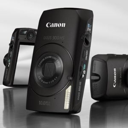 Canon IXUS 300 HS compact camera   review
