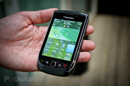 First Look: BlackBerry Torch