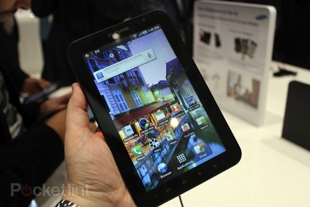 First Look: Samsung Galaxy Tab