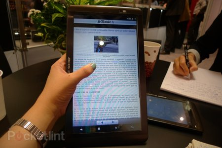 First Look: Archos 101 Internet Tablet