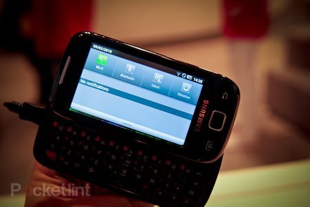First look: Samsung GT-i5510 review - photo 4