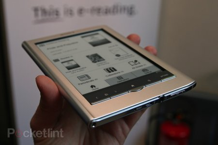 First Look: Sony PRS-650 Reader Touch