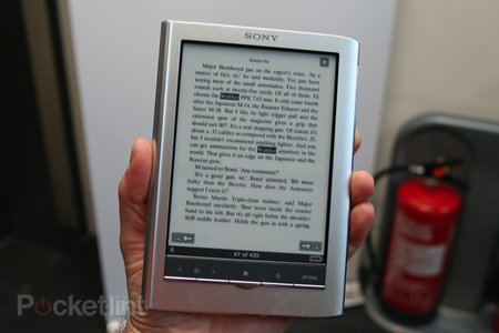 First Look: Sony PRS-650 Reader Touch review - photo 10