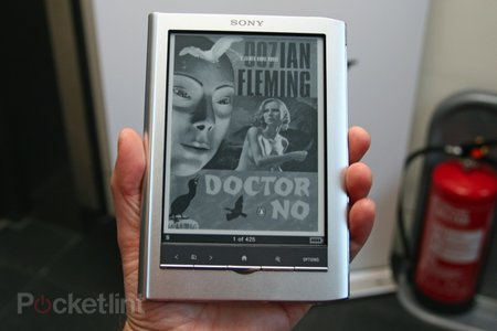 First Look: Sony PRS-650 Reader Touch review - photo 7