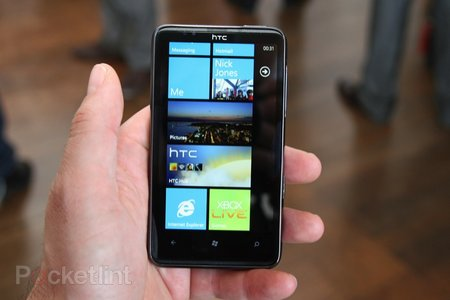 First Look: HTC HD7 review