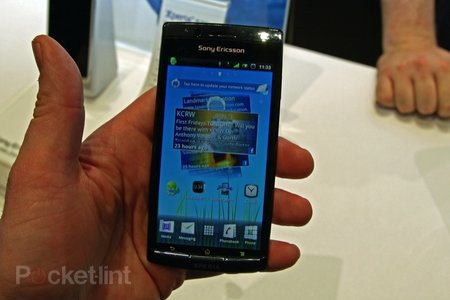First Look: Sony Ericsson Xperia Arc