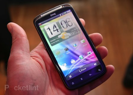 First Look: HTC Sensation   review