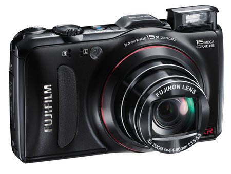 Fujifilm FinePix F550EXR   review