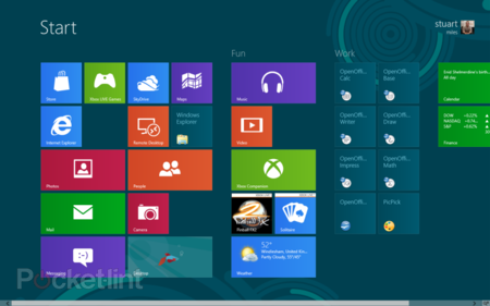 First Look: Windows 8 Consumer Preview