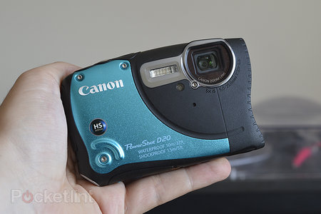 Canon PowerShot D20 review