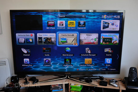 Samsung Series 8 64-inch plasma TV review