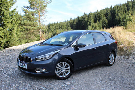 Kia Cee'd Sportswagon 1.6 CRDi 3 review
