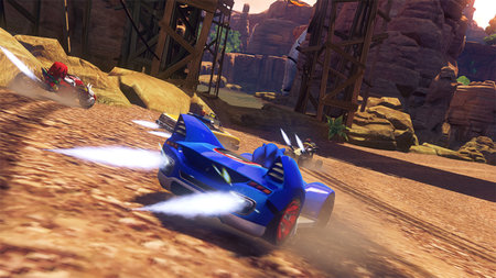 Sonic and Sega All Stars Racing Transformed (Wii U) review - photo 4