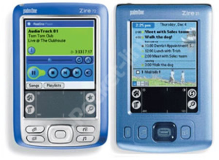 PalmOne confirms the launch of two new Zire models today- the Zire 31 and the Zire 72.