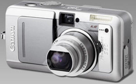 New look Canon PowerShot S60 packs 5.0 Megapixels