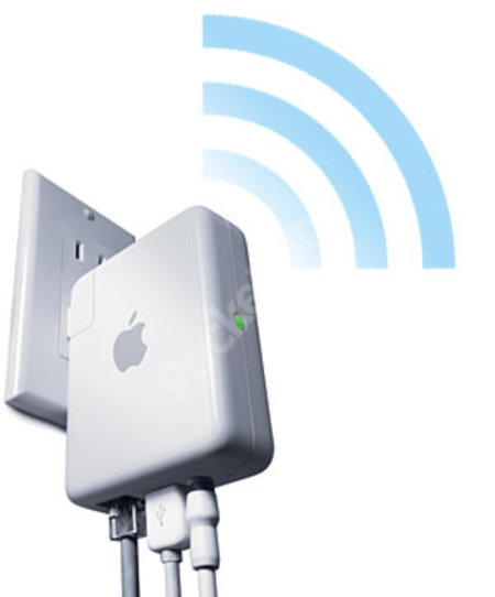 Apple launches AirPort Express featuring AirTunes