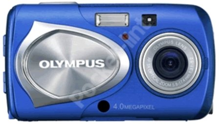 Olympus launch Ocean Blue Mju410