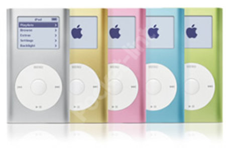 Apple iPod mini finally gets launch date