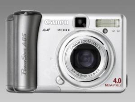 Canon announces PowerShot A85