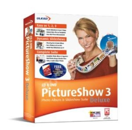 Ulead Releases CD & DVD PictureShow 3 Deluxe