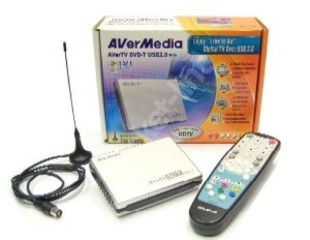AverMedia launch DVB-T USB2.0 portable tv tuner