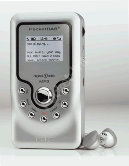 Pure Digital combine MP3 and DAB radio in the Pocketdab 2000