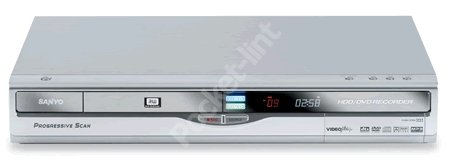 Sanyo launch DVR-H200 160Gb DVD hard drive recorder